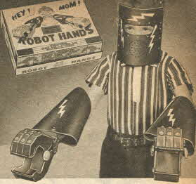 Robot Hands From The 1950s