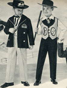 Maverick and Bat Masterson Costumes From The 1950s
