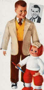 Dick Clark Autograph Doll From The 1950s