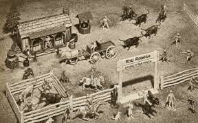 Roy Rogers Ranch Set From The 1950s