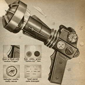Outer Space Ray Gun From The 1950s