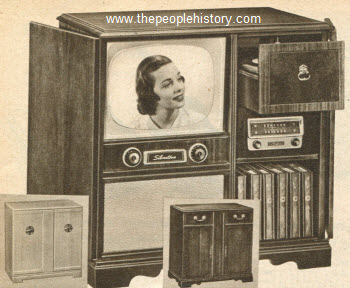1953 TV-Radio-Phono Combination