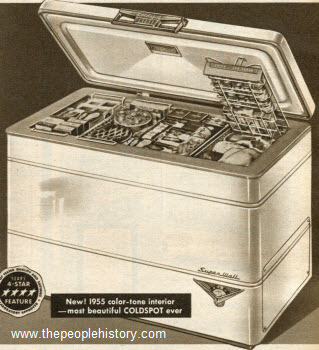 1955 Coldspot Freezer