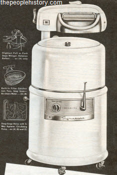 1958 Semi-Automatic Washer