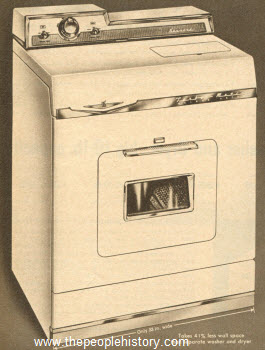 1959 Washer-Dryer Combination