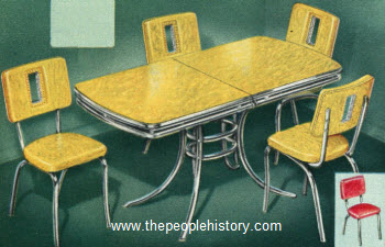 1950 duncan phyfe table set furniture for your home in the 1950 u0027s prices and examples  rh   thepeoplehistory com