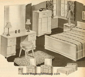 1951 Modern Bedroom Set