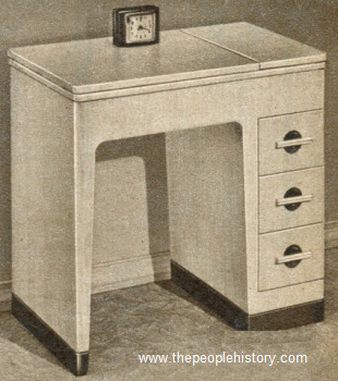 1951 Modern Limed Oak Desk