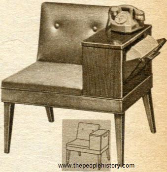 1952 Gossip Bench