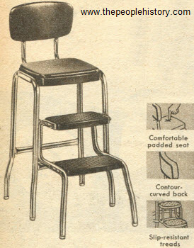 1954 Step Ladder Stool