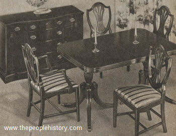1958 Eighteenth Century Style Dining Set