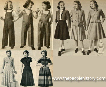 1950 Girls Clothes