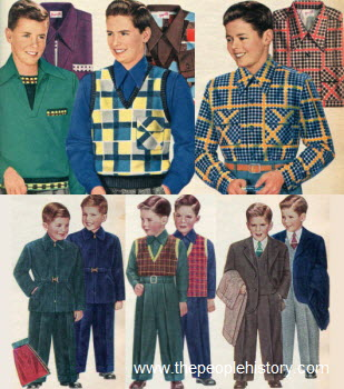 1952 Boys Clothes