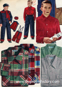1953 Boys Clothes