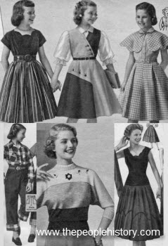 1953 Girls Clothes