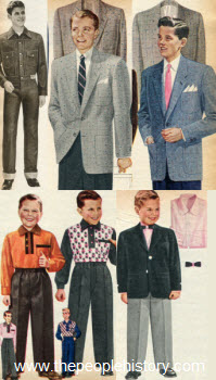 1955 Boys Clothes