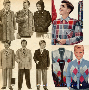 1956 Boys Clothes