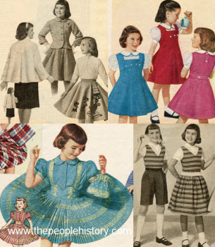 1956 Girls Clothes