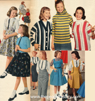 1957 Girls Clothes