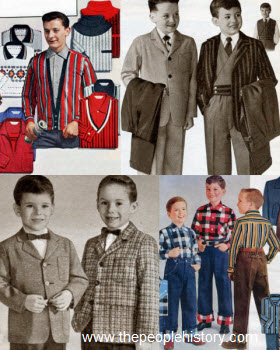 1958 Boys Clothes