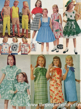 1959 Girls Clothes
