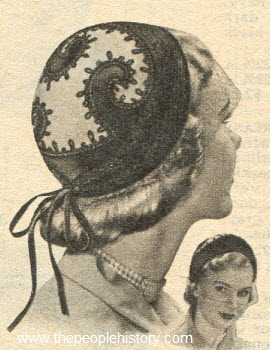 Embroidery Helmet 1951