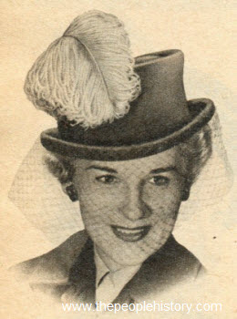 Ostrich Feather Homburg 1951