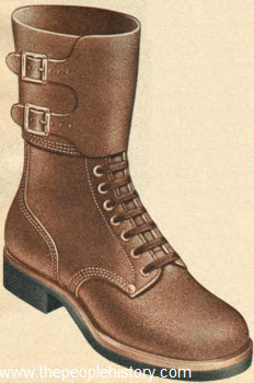 Rugged Combat Type Boot 1951