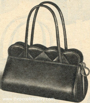 Scalloped Top Handler 1951