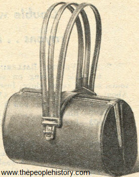Triple Corded Barrrel Bag 1951