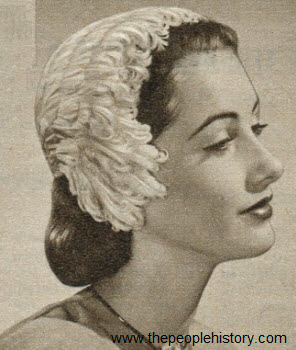 Feathered Flatterer Hat 1952