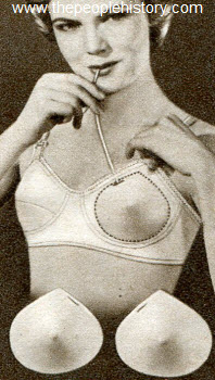 Inflatable Rubber Bust Pads 1952