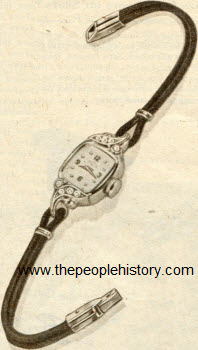 Lady Elgin Watch 1953
