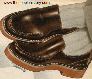 Slip On Leisure Shoe 1953