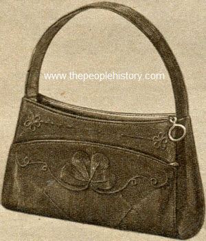 Zip Top Corde Bag 1953