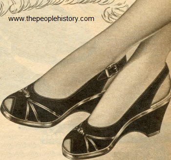 Leather Sandal 1954