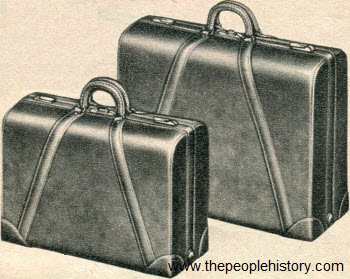 Men's Leather Luggage 1954