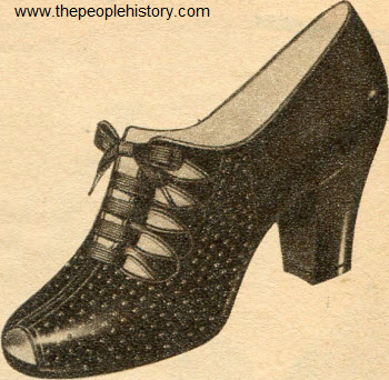 Smooth Fit Tie Shoes 1954