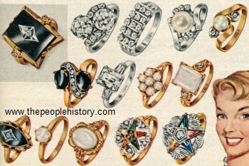 Cocktail Rings 1956
