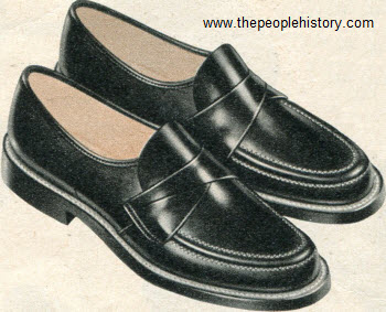 Crossover Strap Shoes 1956