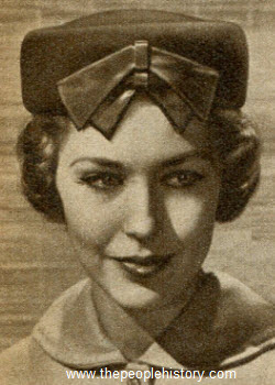 Bare the Bow Pillbox Hat 1957
