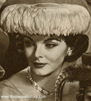 Cascade of Feathers Hat 1957