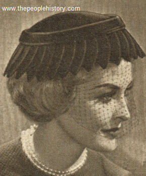 Pointed Petal Hat 1957