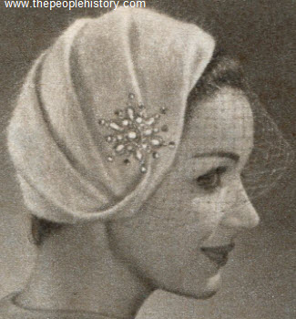 Draped Profile Turban 1958