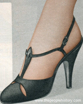 Pointed Toe Sandal 1958