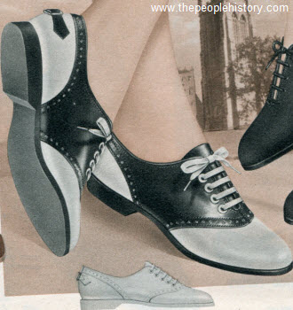 Saddle Oxford 1958