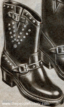 Unique Studded Boot 1958