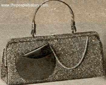 Wool Tweed Bag 1958
