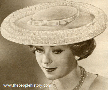 Dramatic Sailor Hat 1959