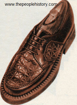 Fancy Embossed Shoe 1950